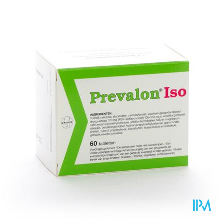 Farmawebshop - PREVALON ISO NF COMP 60