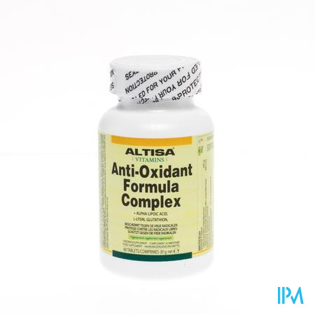 Altisa Anti-Oxydant Formule Complex 60 tabletten