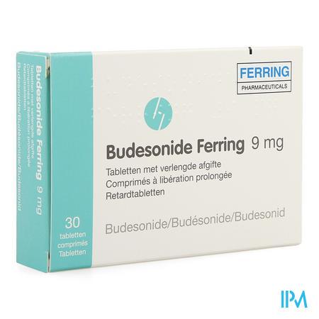 Budesonide Ferring Verlengde Afgifte Comp 30 X 9mg