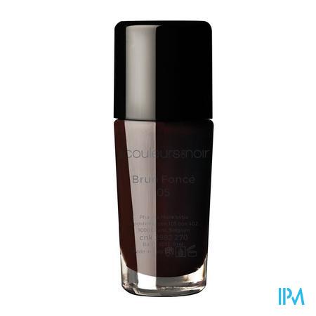 Les Couleurs De Noir Nagellak 05 Donker Bruin 11 ml