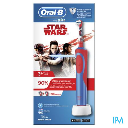 Oral-b Tandenborstel Vitality Kids Star Wars Box