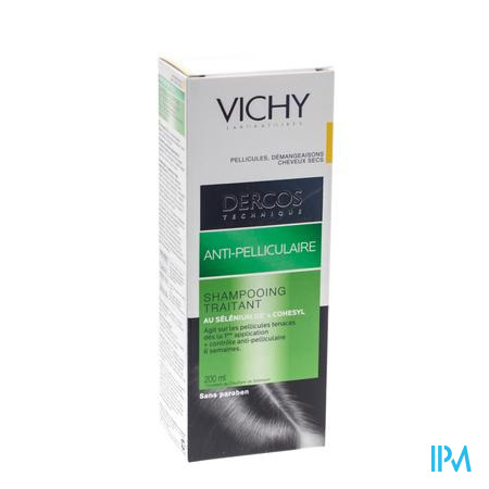 Vichy Dercos Anti-Roos Shampoo Droge Schilfers 200 ml