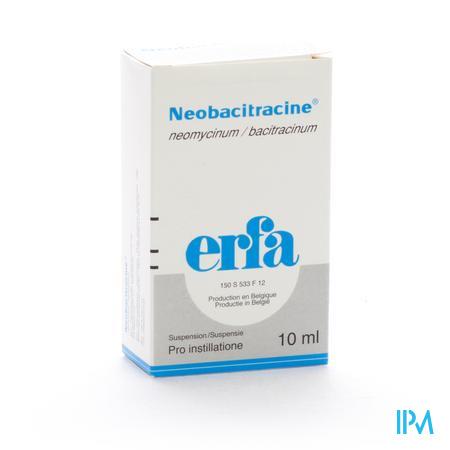 Neobacitracine Pro Instil 1 X 10ml