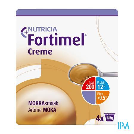 Fortimel Creme Moka 4x125 gr  -  Nutricia