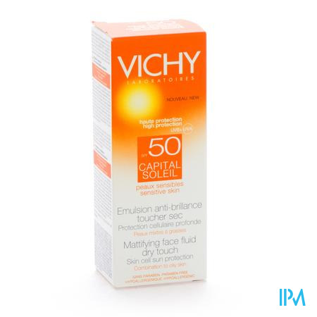 Vichy Crème Solaire Capital Soleil Dry Touch Spf50+ 50 ml crème