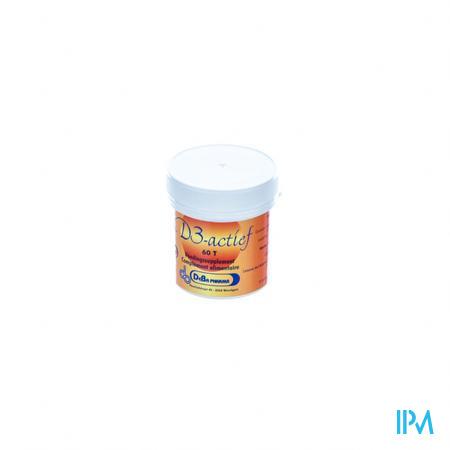 Deba D3-Actif 15mcg 60 tabletten