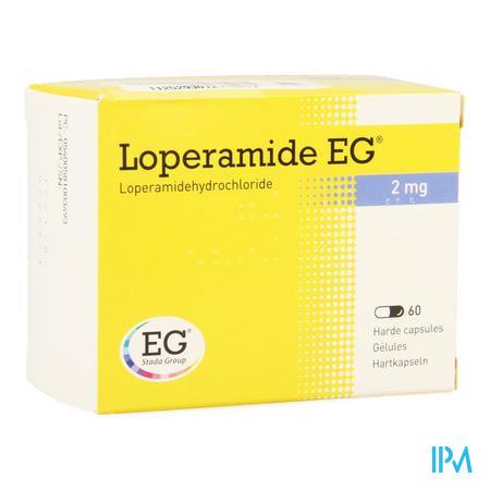 Loperamide EG Capsule 60x2 mg