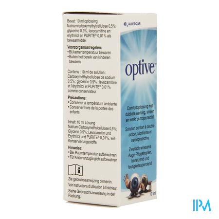 Optive Solution Confort Double Action Ster 10 ml