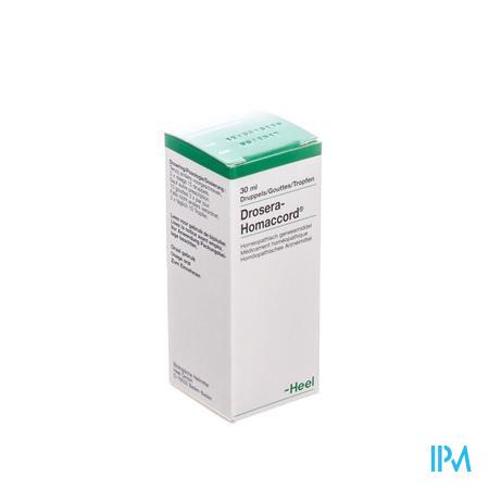 Drosera-homaccord Gouttes 30 ml  -  Heel-Belgium