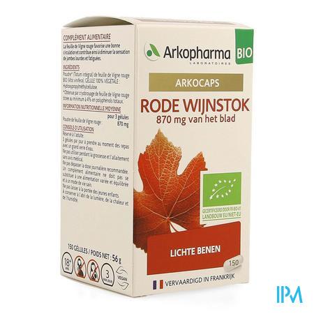 Arkocaps Rode Wijnstok Bio Caps 150 Nf