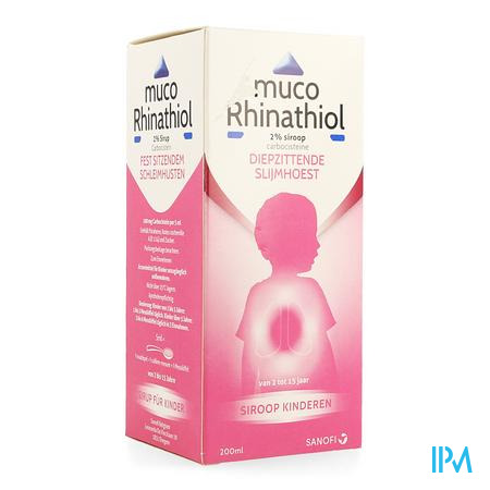 Muco Rhinathiol 2% Sir Inf 200ml