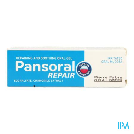 Pansoral Repair Mondgel Tube 15ml