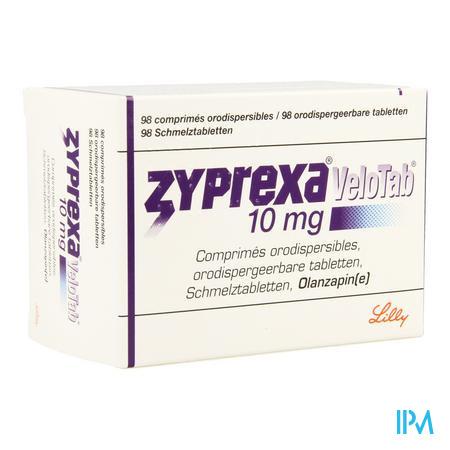 Zyprexa Velotab 10mg Pi Pharma Comp Orodisp.98 Pip