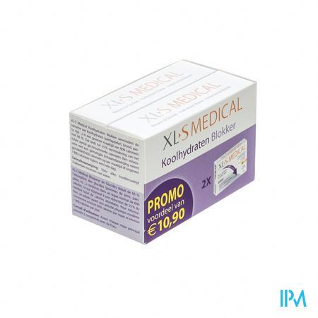 XLS Medical Koolhydraten Blokker Duopack Tabletten 120