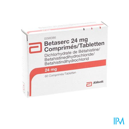 Betaserc Comp 60 X 24mg
