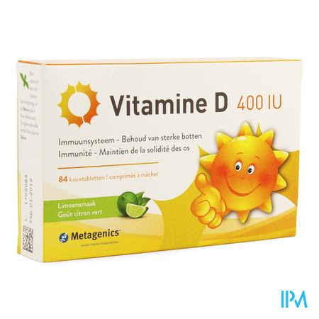 Vitamine D 400iu Tabl 84 Metagenics