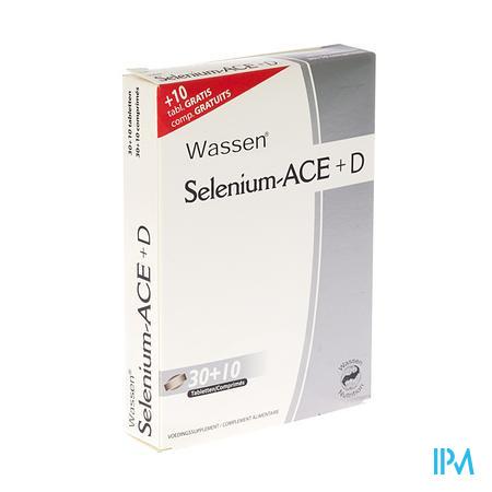 Farmawebshop - SELENIUM ACE+ D 30 tabl