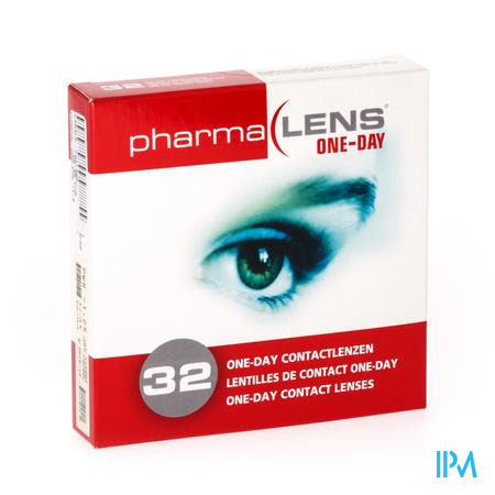PharmaLens lentilles (jour/24 heurs) (Dioptrie: -1.25) 32 lentilles