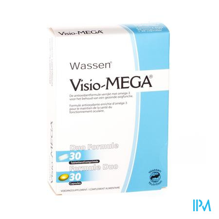 Farmawebshop - VISIO MEGA 30 tabletten + 30 CAPS