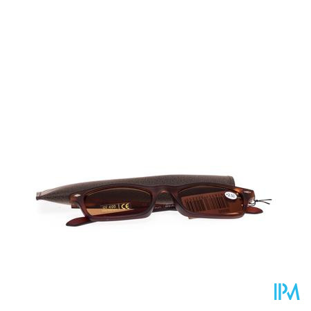 Sunreader Zonneleesbril +2.50 Brown