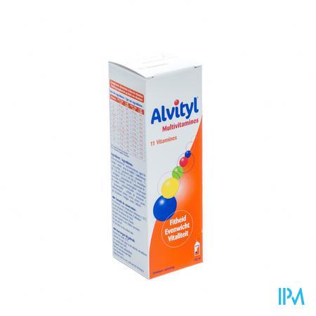 Alvityl Multivitamine 150 ml siroop