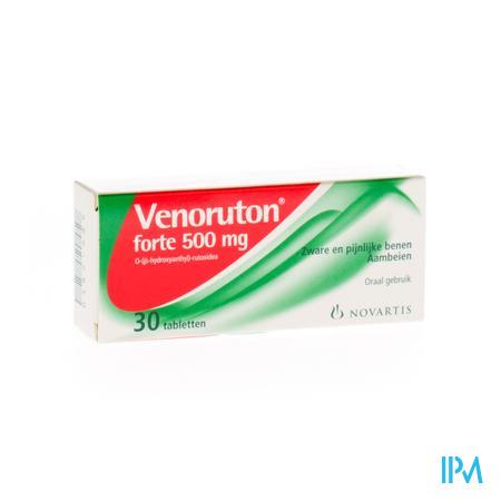 VENORUTON FORTE 500 COMP  30 X 500MG