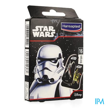Afbeelding Hansaplast Pleister Junior Star Wars 16 Strips.