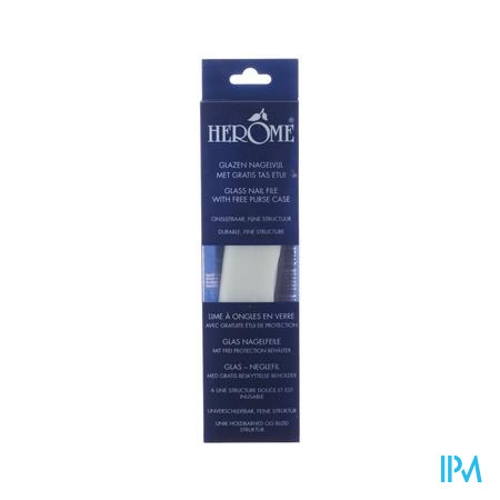 Herôme Glass Nail File Vijl 1 stuk