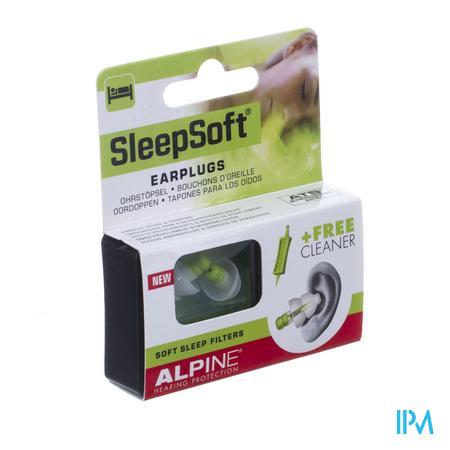 Afbeelding Alpine SleepSoft Oordoppen met Zachte Slaapfilters 1 Paar .