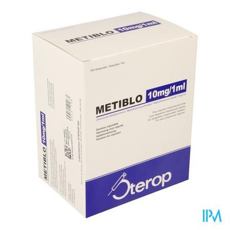 STEROP METIBLO 10 MG 1 ML 100 AMP