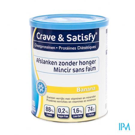 Crave & Satisfy Protéines Diététique Banana 200 g