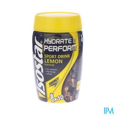 Isostar Citroen 400 g poeder