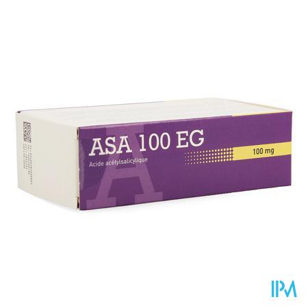 Afbeelding Asa 100mg EG 168 tabletten.