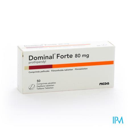 Dominal Forte Deelbare Tabl 50x80mg