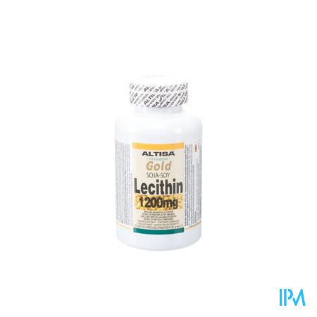 Altisa Soja Lecithine 1200mg Softgel 150