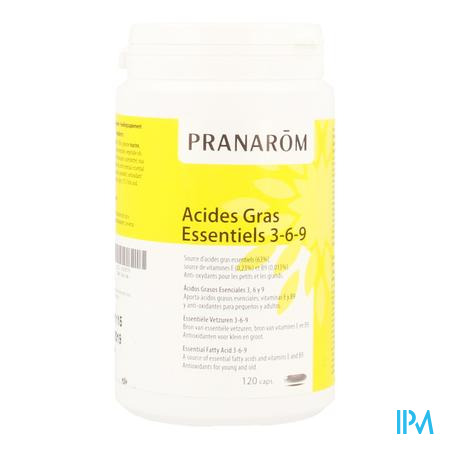 Acides Gras Essentiels 3-6-9 Caps 120 Pranarom