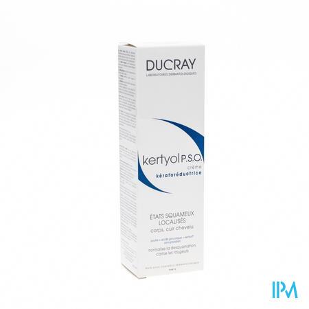 Afbeelding * Ducray Kertyol P.S.O. Keratoreducerende Crème voor Lokale Behandeling van Schilfers op Hoofdhuid en Lichaam Tube 100 ml.