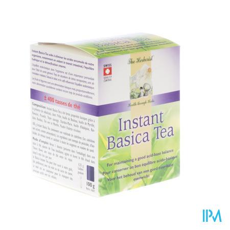 Herborist Instant Basica Tea 100 g poeder