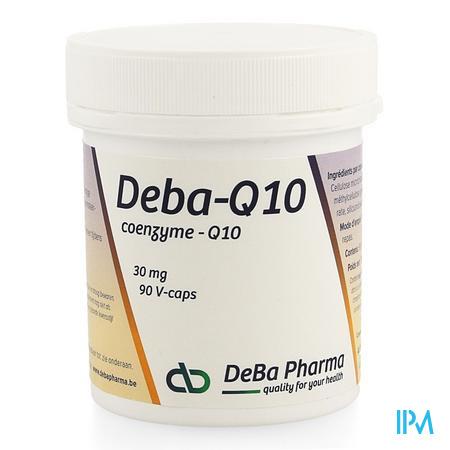 Coenzyme Q10 Caps 90x30mg Deba