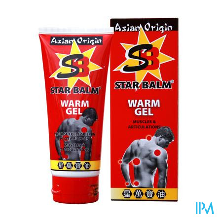 Star Balm Warm Gel 100 ml tube