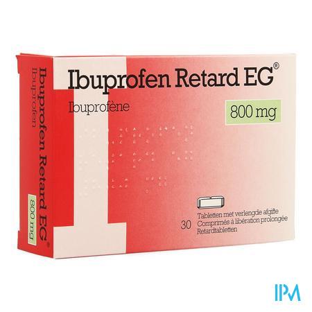 Ibuprofen Retard Eg 800mg Comp Lib.prol. 30x800mg