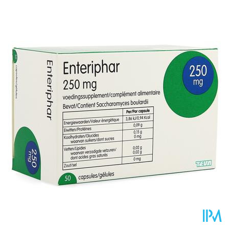 Enteriphar Capsule 50x250 mg