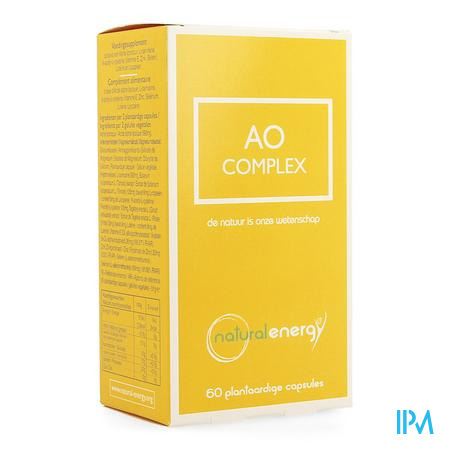 Ao Complex Natural Energy Caps 60