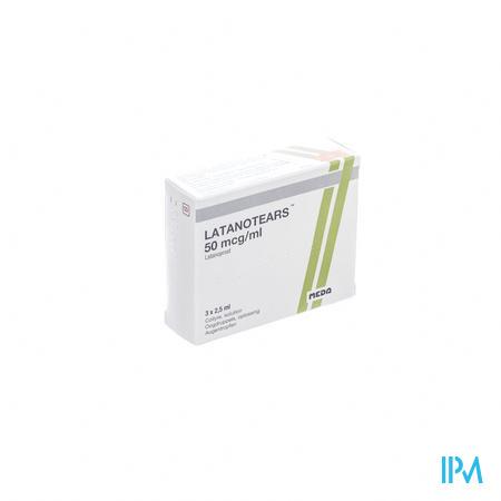 Latanotears 50 Mcg/ml Collyre 3 Fl 2,5ml