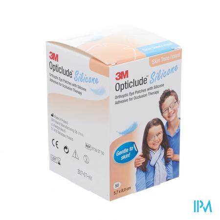 Opticlude 3m Silicone Eye Patch Skin Tone Maxi 50