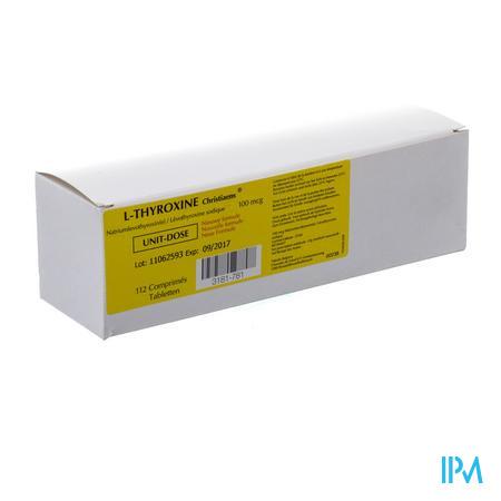 L-thyroxine 112 Tabletten 100 µg Ud Nm