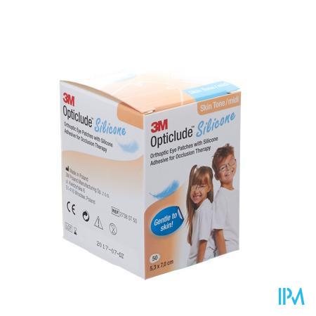 Opticlude 3m Silicone Eye Patch Skin Tone Midi 50