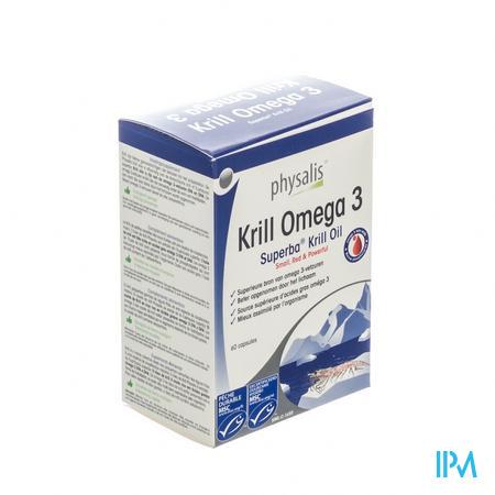 Krill Omega 3 60 capsules