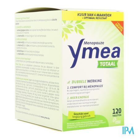 Afbeelding Ymea Totaal Menopauze voor Comfort bij Menopauze en Meer Energie Promo 120 Tabletten.