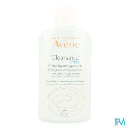 Avene Cleanance Hydra Wascreme Verzacht. Nf 200ml
